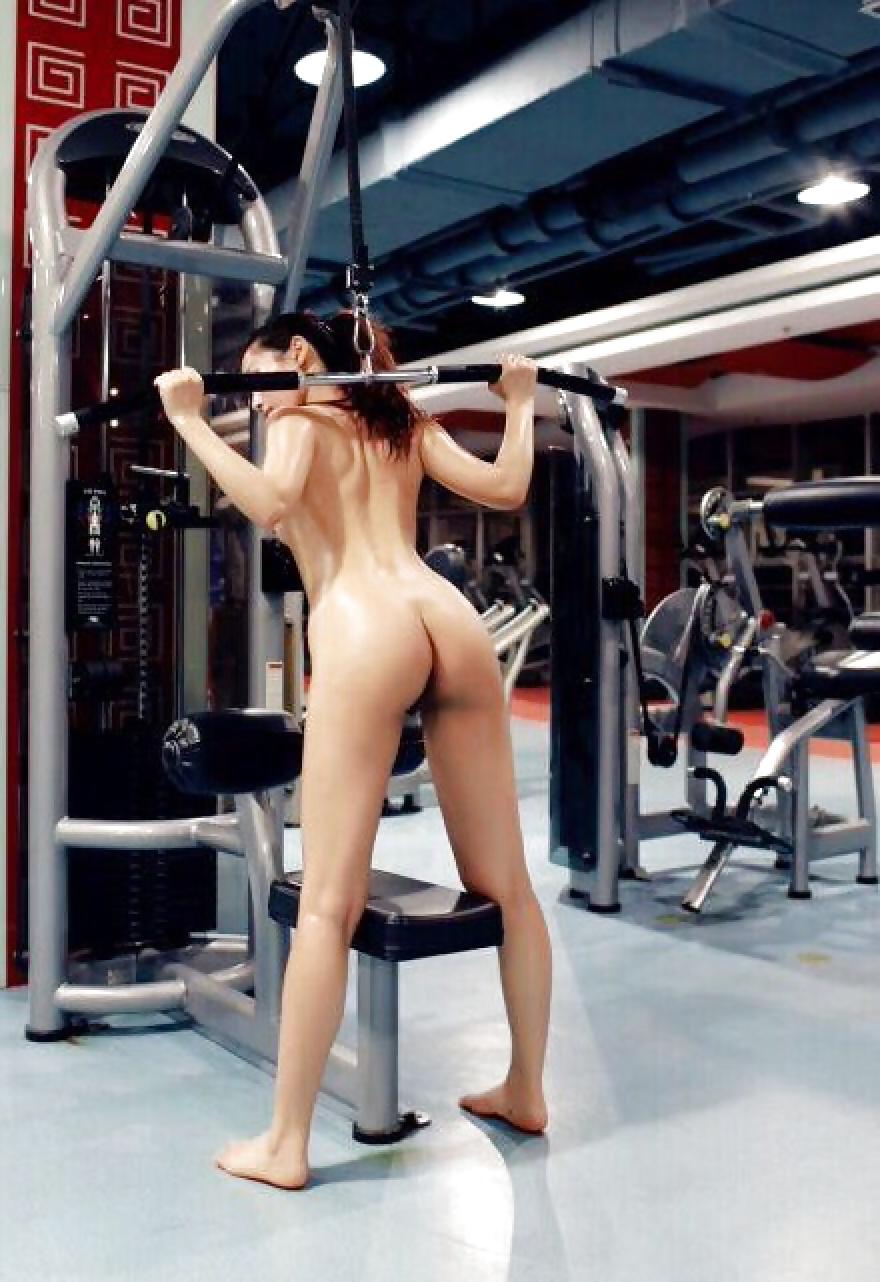 nude girl in pulic